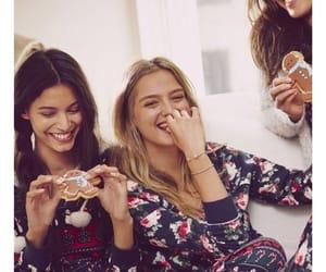 pyjamas, sleepover, and vs image