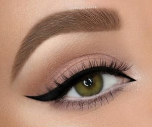 brown and eyebrows image