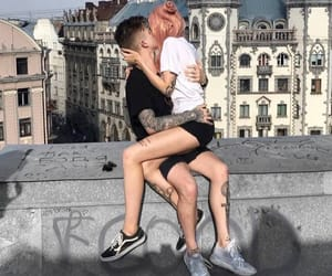 couple, pale, and couples image
