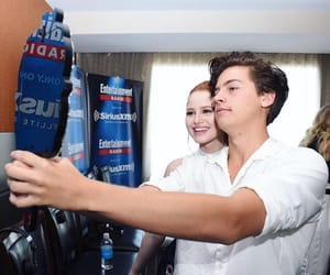 cole sprouse, madelaine petsch, and cole image