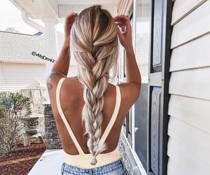 braid, hair style, and Queen image