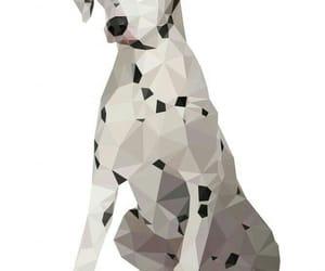 animal, animal art, and geometric image
