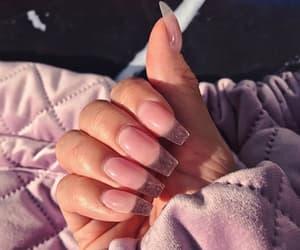 fashion, nails, and unhas image
