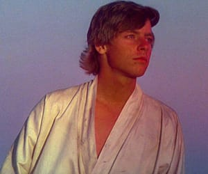 gif, star wars, and luke skywalker image