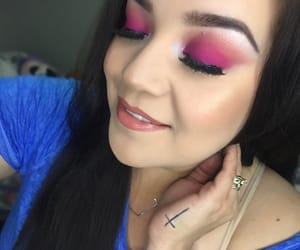 makeup, boxycharm, and makeupselfie image