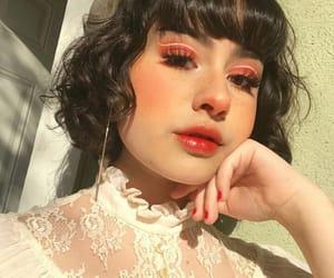 glow, laranja, and makeup image