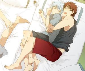 boys, hug, and yaoi image