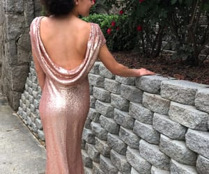 backless, girl, and Prom image