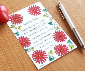 card, friendship, and note pad image