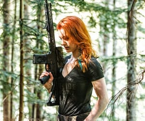 weapon outfitters and redhead forest hunting image
