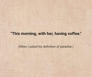 coffee, couples, and feelings image
