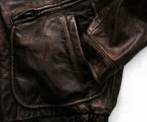 jacket, leather, and aesthetic image