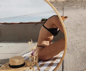 aesthetic, mirror, and summer image