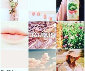 april, taurus, and zodiac sign image