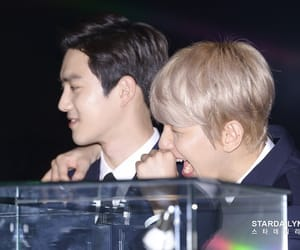 exo, baekhuyn, and suho image