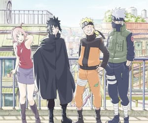 naruto, team 7, and anime image