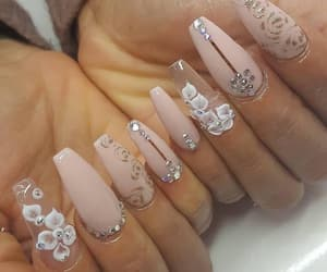 design, manicure, and nails image