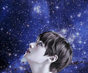 kpop, space, and stars image
