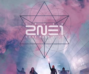 2ne1, album, and kpop image