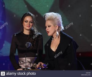 Cyndi Lauper and leighton meester image