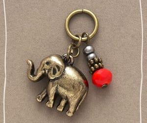 elephant, keychain, and trinket image