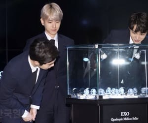 exo, kai, and baekhuyn image