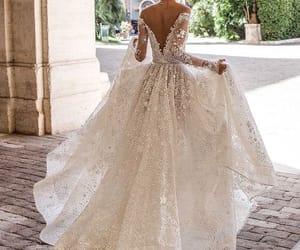 beautiful and wedding dress image