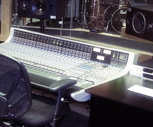 recording studio, music mixing, and audio engineering image