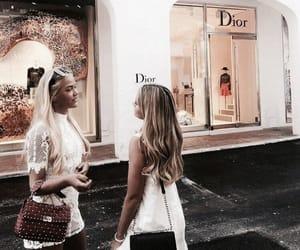 dior, fashion, and friendship image