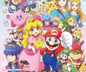 game, kirby, and the legend of zelda image