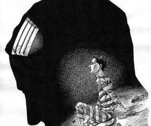 mind, prison, and prisoner image