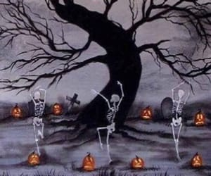 Halloween, header, and layout image