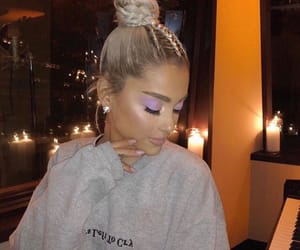 ariana grande, ariana, and no tears left to cry image