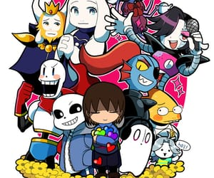 game, papyrus, and sans image
