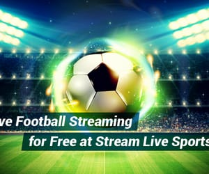 live streaming, live sports streaming, and live football streaming image