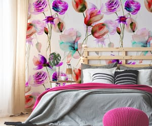 bedroom, colors, and design image