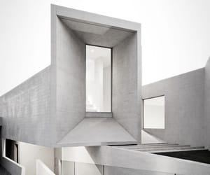 architecture and black and white image