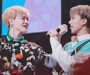 jisung, chenle, and nct dream image