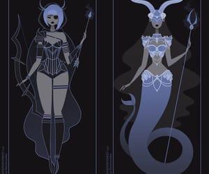 Sagittarius, capricorn, and zodiac signs image