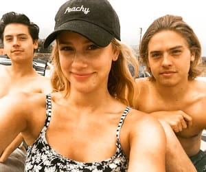 riverdale, cole sprouse, and dylan sprouse image
