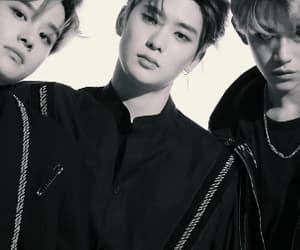 lucas, jaehyun, and jungwoo image