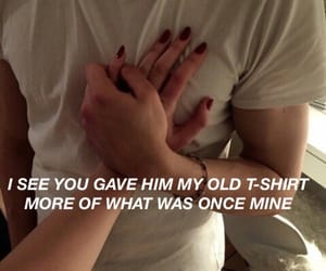 aesthetic, couple, and Lyrics image