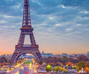 eiffel tower, luxury, and nature image