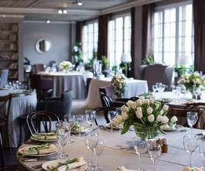dinner and wedding image