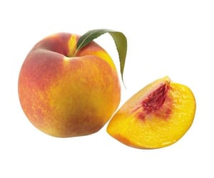 fruit, overlay, and peach image