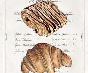 food, croissant, and france image