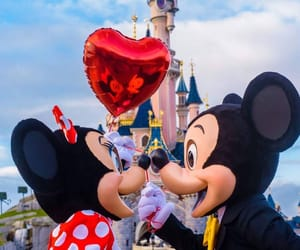 disney, love, and minnie image