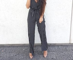 striped jumpsuit image