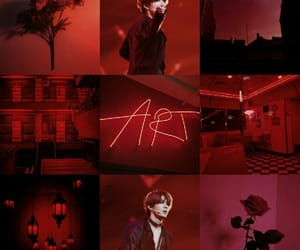 aesthetic, red, and nct 127 image