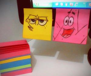 patrick, spongebob, and pink image